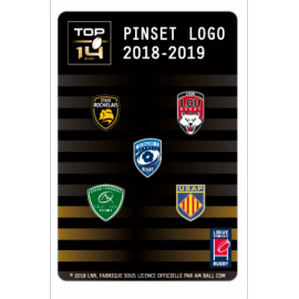 Set B de 5 pins TOP 14 : ASR, LOU, MHR, Section Paloise, USAP
