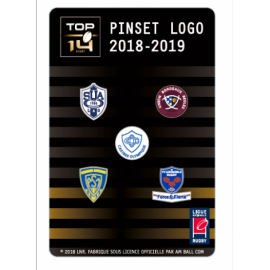 Set A de 5 pins TOP 14 : SUA, UBB, Castres, ASM, Grenoble