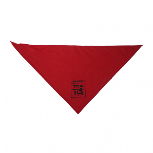 Bandanas Demi Finale TOP 14 - Rouge