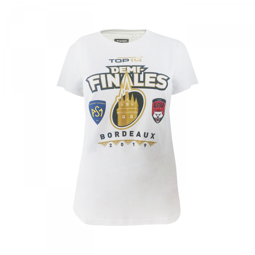 Tee- shirt opposition Demi finales Femme - LOU / ASM Clermont