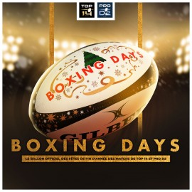BALLON COLLECTOR BOXING DAYS 2019-2020