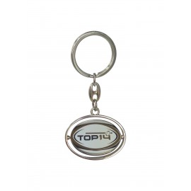 PORTE CLE BALLON TOP 14 METAL