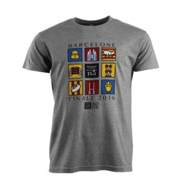 TEE-SHIRT MOSAIC BARCELONE - JUNIOR 2016