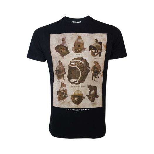 T Shirts casques Rugby division - Enfant